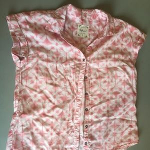 Style & Co Pink Blouse